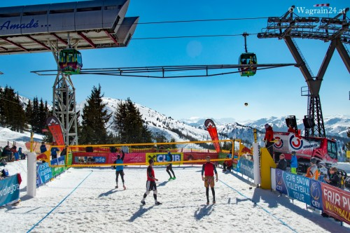 CentreCourt Snowvolleyball Tour Wagrain